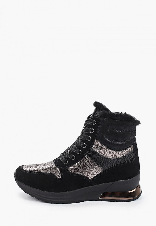женские кроссовки tamaris, черные