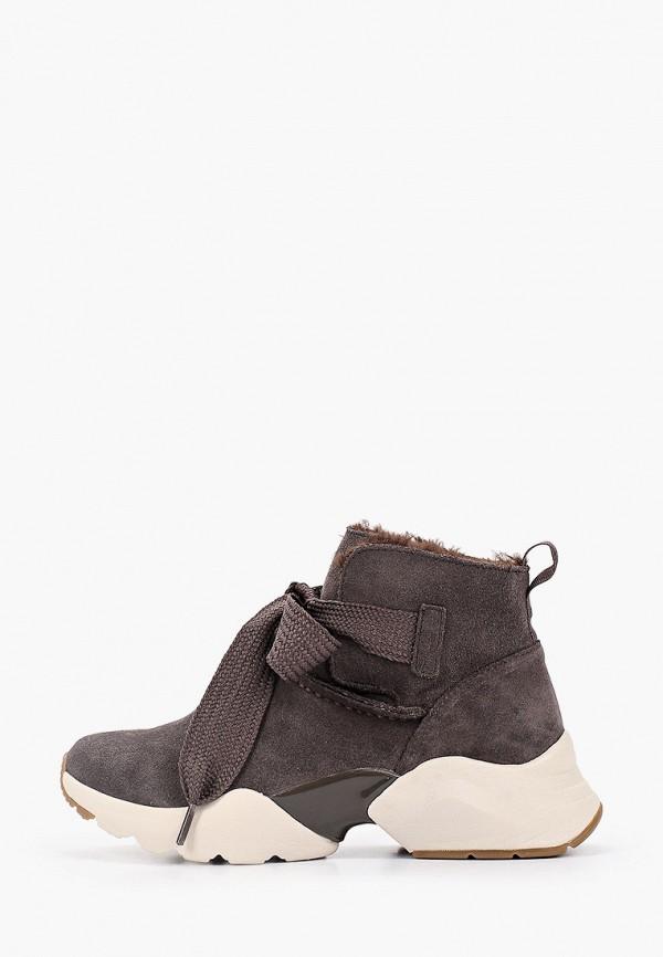 женские кроссовки tamaris, серые