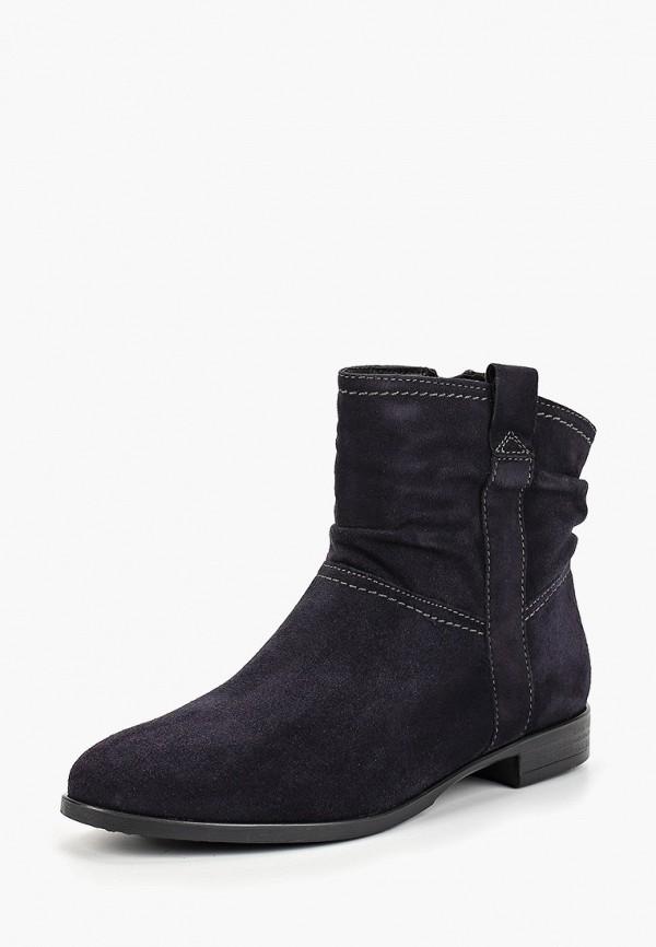 Фото 2 - Женские ботинки и полуботинки Tamaris синего цвета