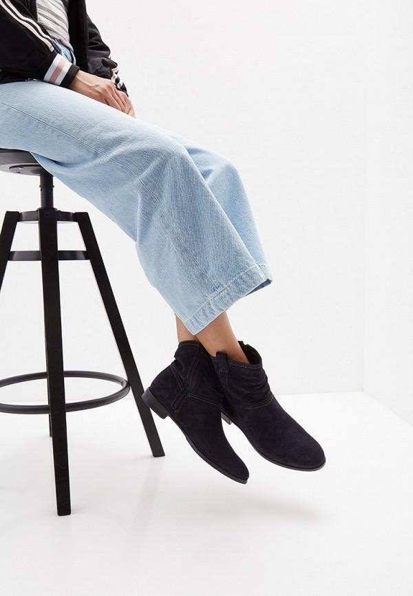 Фото 7 - Женские ботинки и полуботинки Tamaris синего цвета
