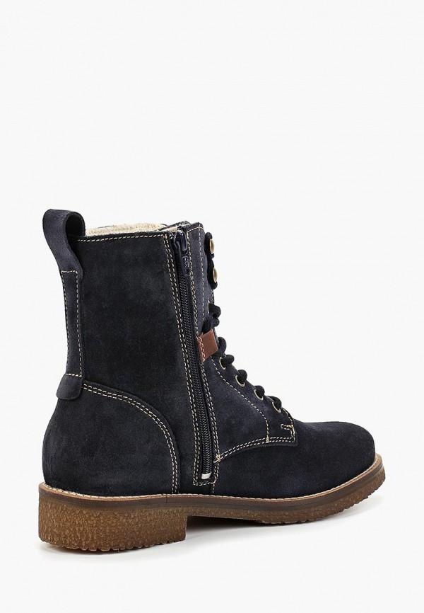 Фото 3 - Женские ботинки и полуботинки Tamaris синего цвета