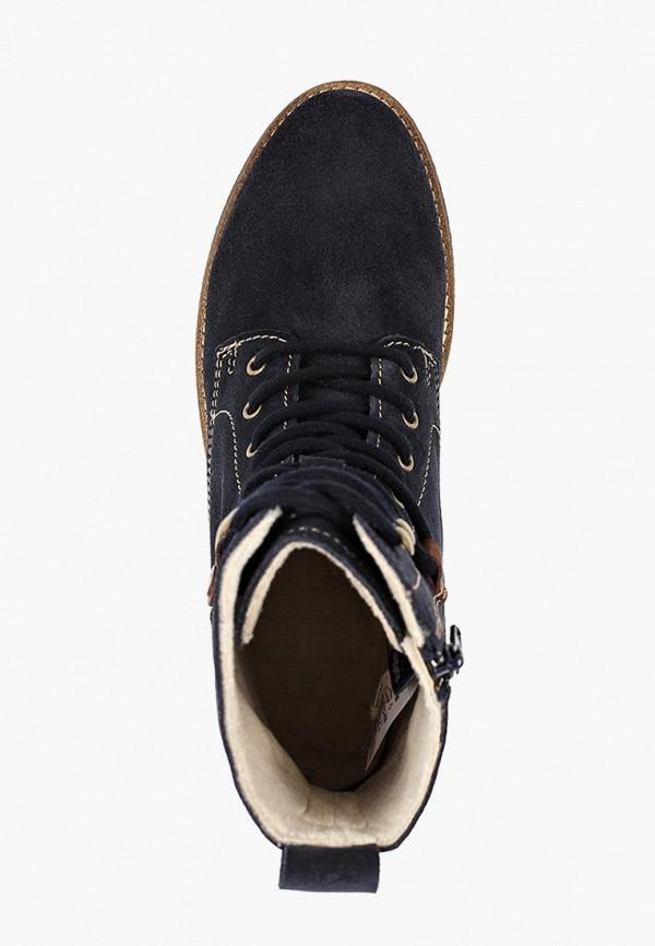 Фото 4 - Женские ботинки и полуботинки Tamaris синего цвета