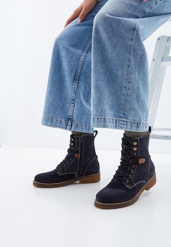 Фото 6 - Женские ботинки и полуботинки Tamaris синего цвета