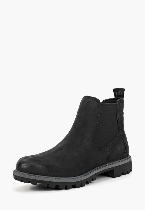 Фото 2 - Женские ботинки и полуботинки Tamaris черного цвета