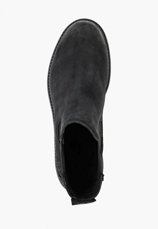 Фото 4 - Женские ботинки и полуботинки Tamaris черного цвета