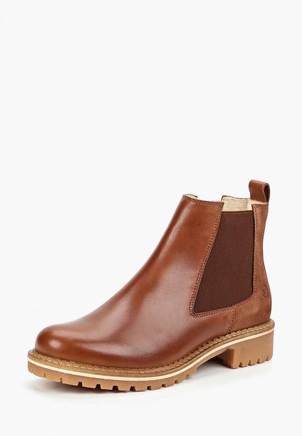 Фото 8 - Женские ботинки и полуботинки Tamaris коричневого цвета