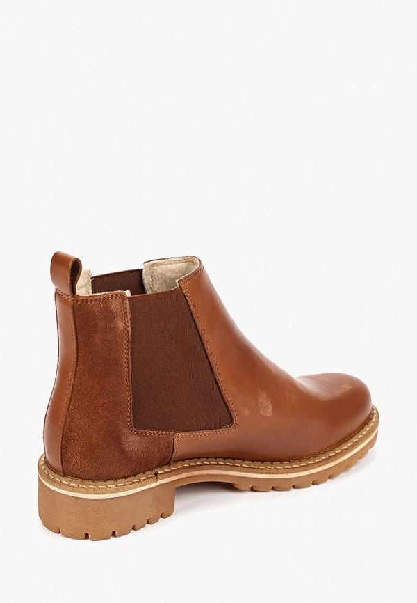 Фото 3 - Женские ботинки и полуботинки Tamaris коричневого цвета