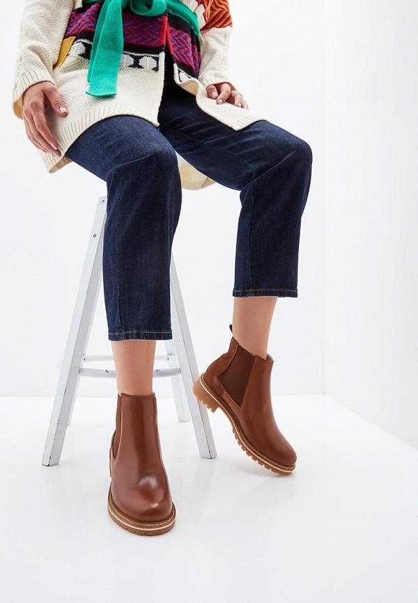 Фото 6 - Женские ботинки и полуботинки Tamaris коричневого цвета