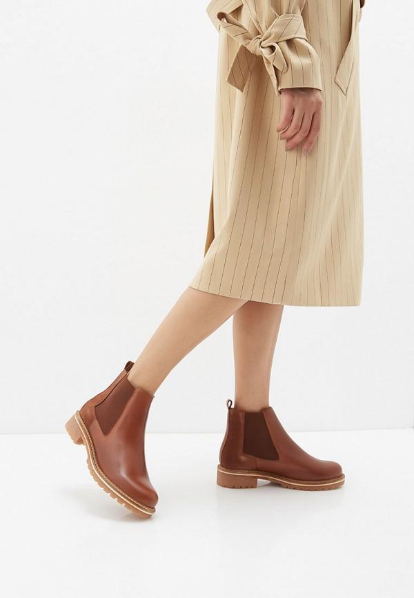Фото 12 - Женские ботинки и полуботинки Tamaris коричневого цвета