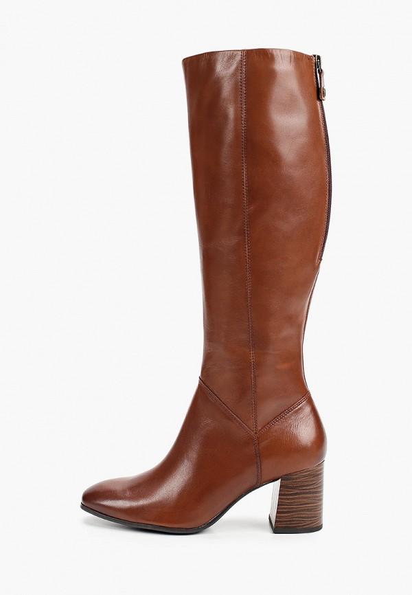 женские сапоги tamaris, коричневые