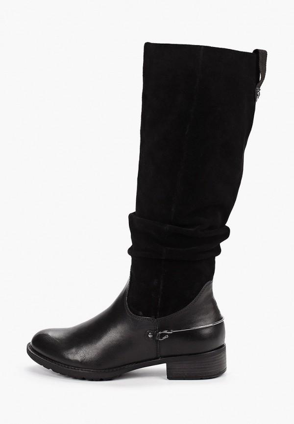 женские сапоги tamaris, черные