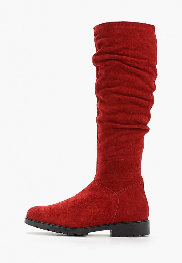 женские сапоги tamaris, красные