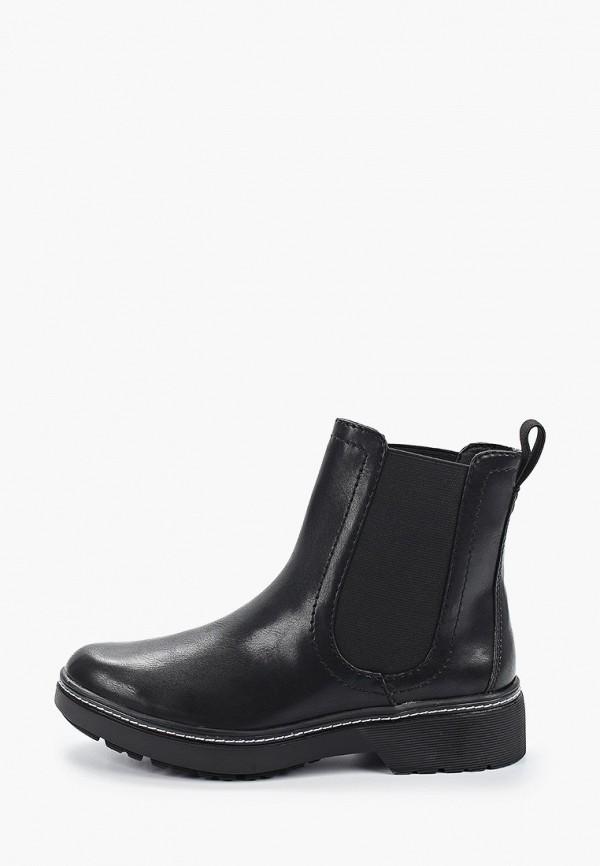 женские ботинки-челси tamaris, черные