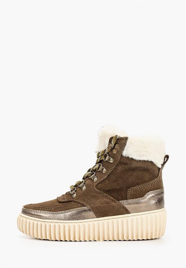 женские ботинки tamaris, хаки