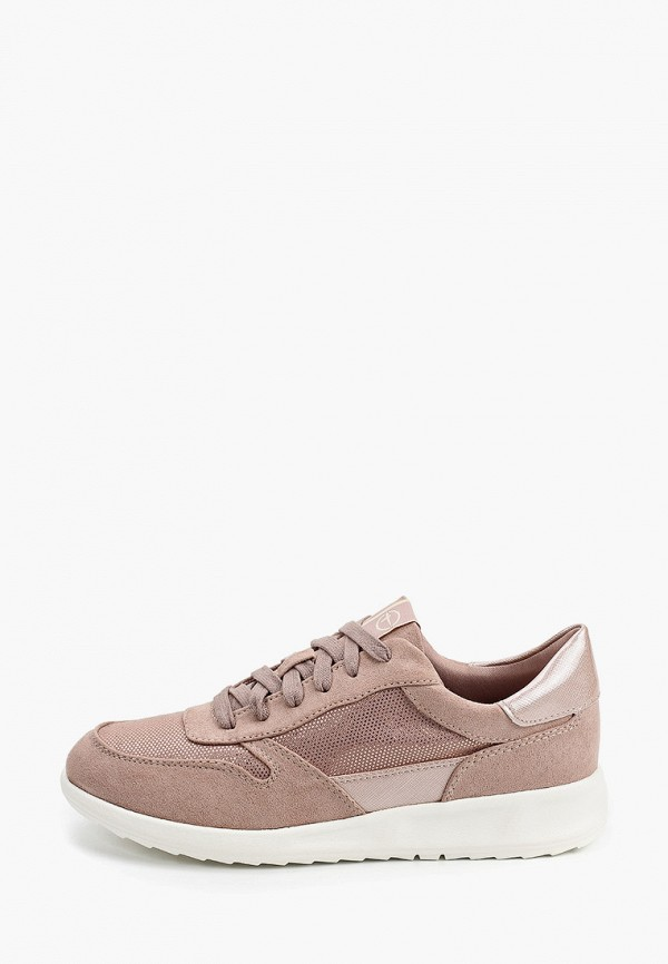 женские кроссовки tamaris, розовые