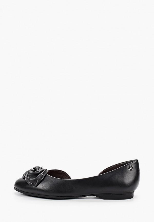 женские туфли tamaris, черные
