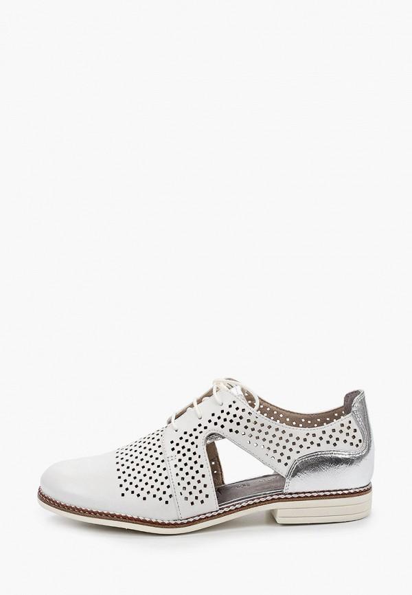 женские низкие ботинки tamaris, белые