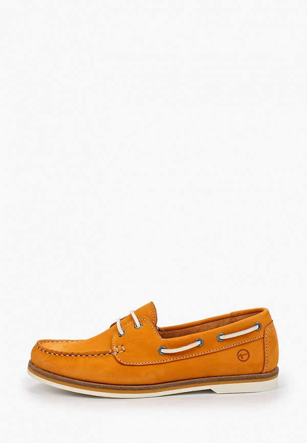 женские мокасины tamaris, оранжевые