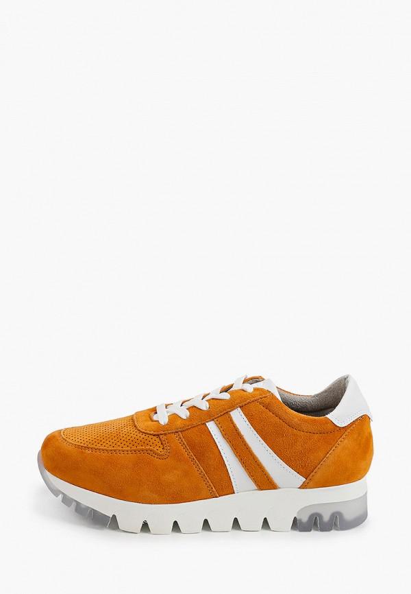 женские кроссовки tamaris, оранжевые