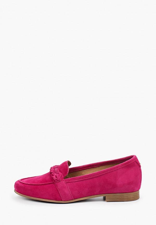 женские лоферы tamaris, розовые