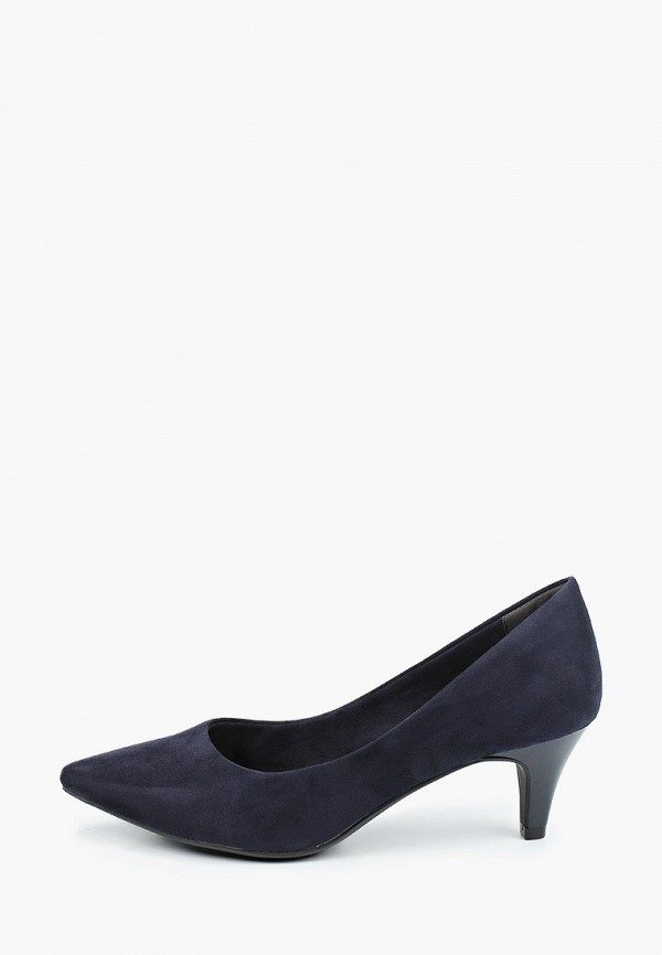 женские туфли tamaris, синие