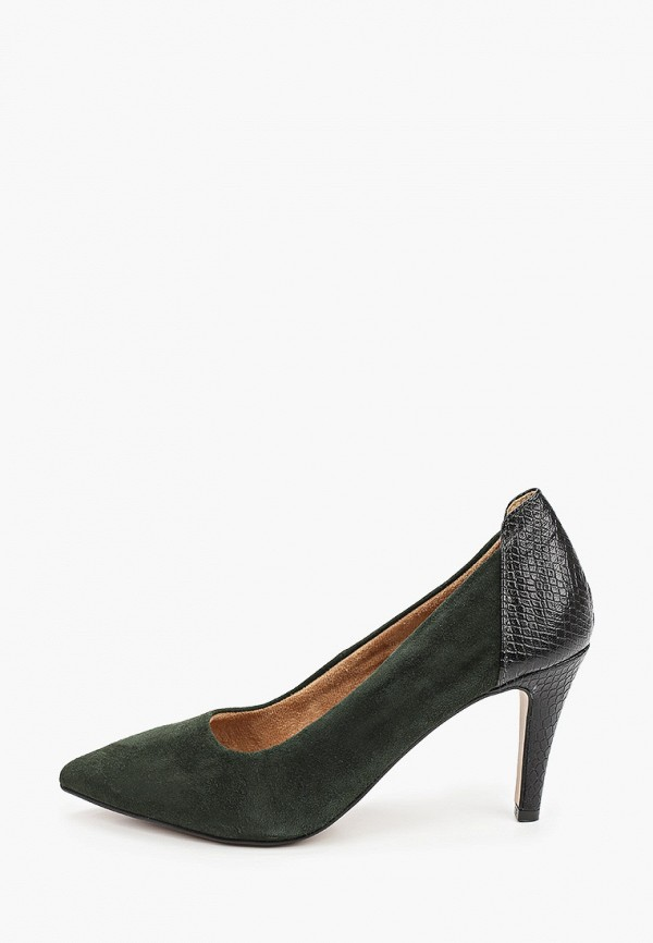 женские туфли tamaris, зеленые