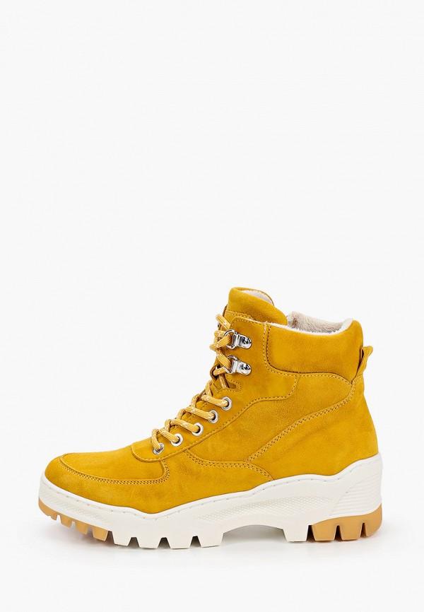 женские ботинки tamaris, желтые