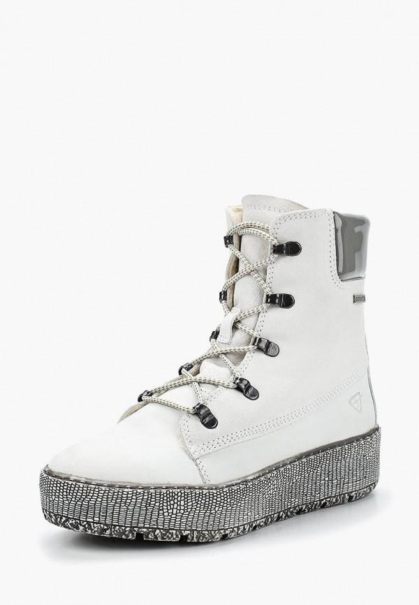 Фото - женские ботинки и полуботинки Tamaris белого цвета