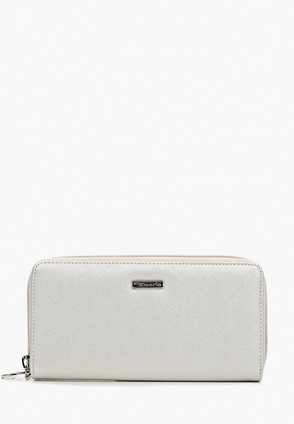 Фото - женский кошелек или портмоне Tamaris серебрянного цвета