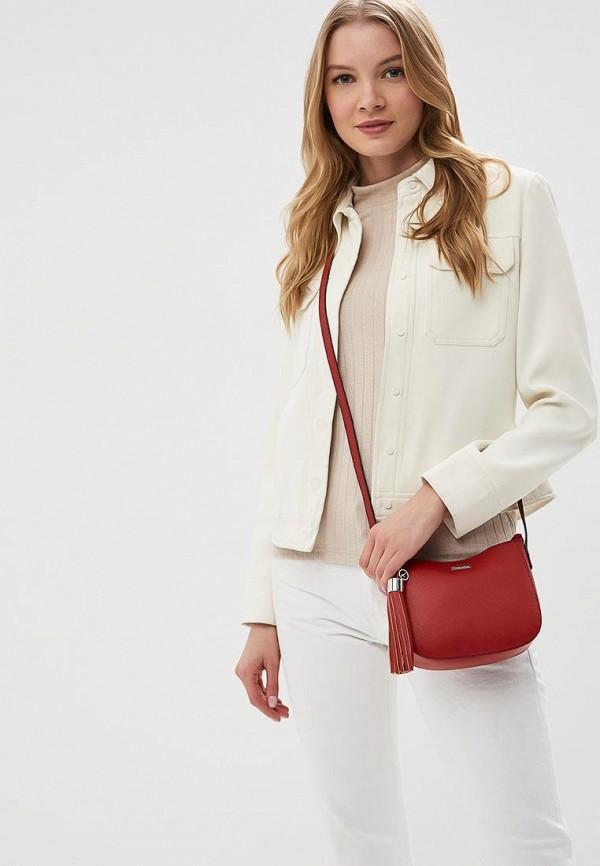 Фото 4 - женскую сумку Tamaris красного цвета
