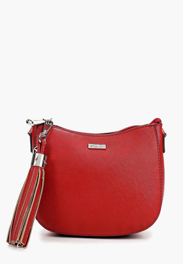 Фото - женскую сумку Tamaris красного цвета
