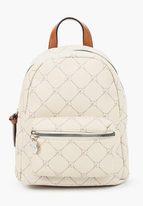 женский рюкзак tamaris, бежевый