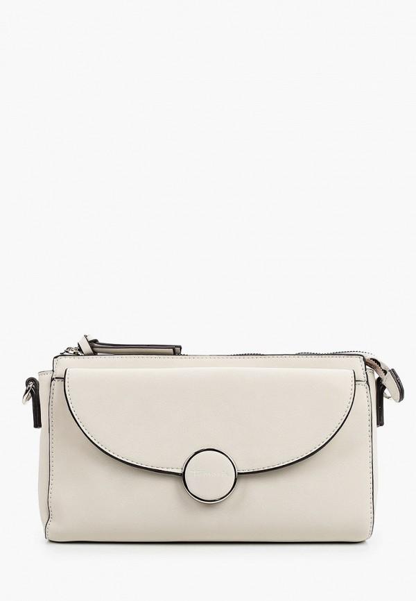 женская сумка tamaris, белая