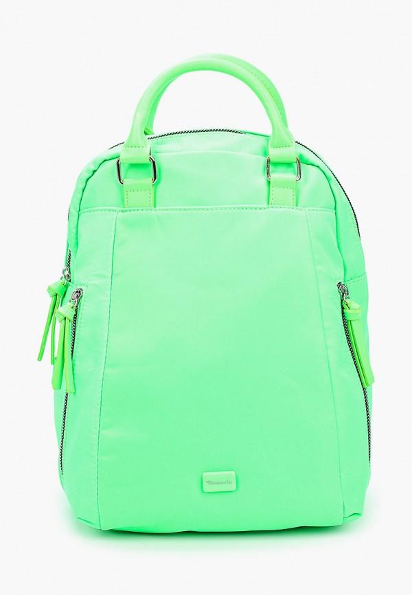женский рюкзак tamaris, зеленый
