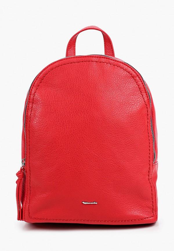 женский рюкзак tamaris, красный