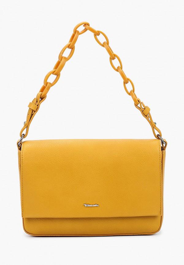 женская сумка tamaris, желтая