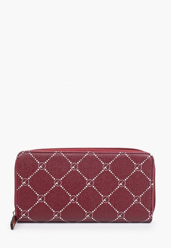 женский кошелёк tamaris, бордовый