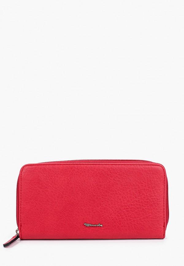 женский кошелёк tamaris, красный
