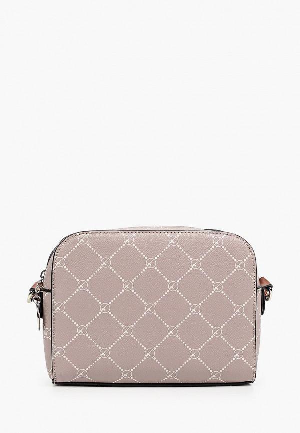 женская сумка через плечо tamaris, бежевая