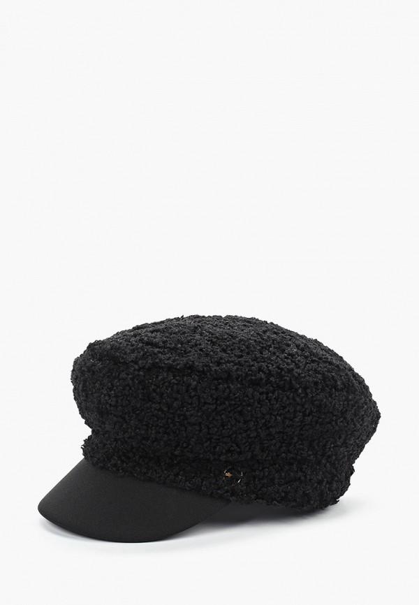 женская кепка tamaris, черная