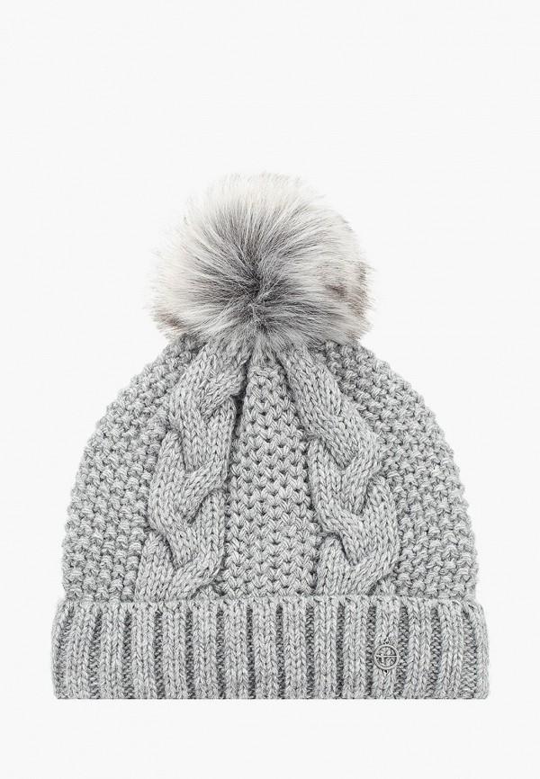женская шапка tamaris, серая