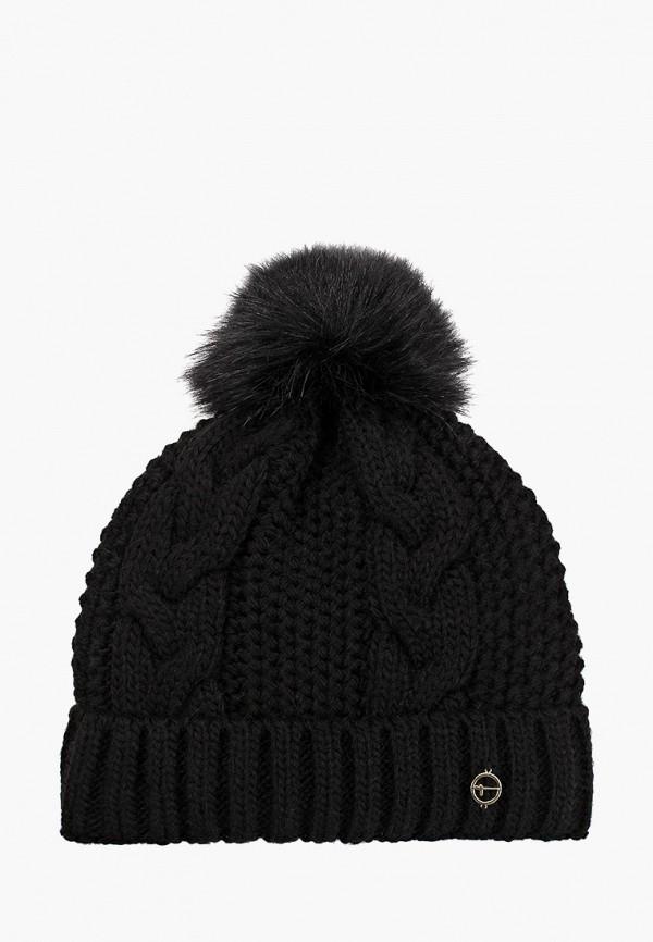 женская шапка tamaris, черная