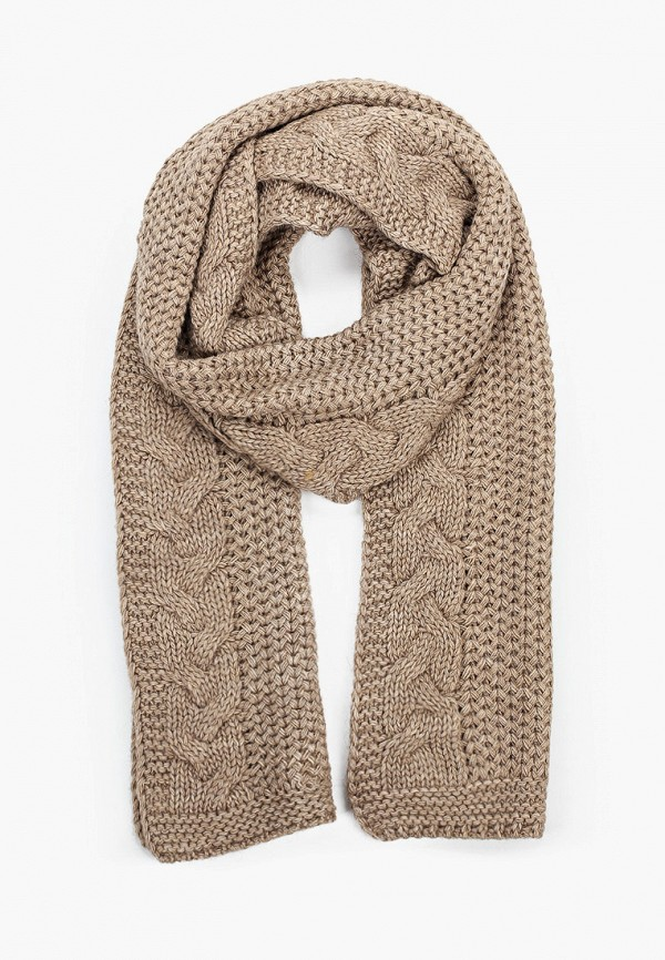 женский шарф tamaris, бежевый