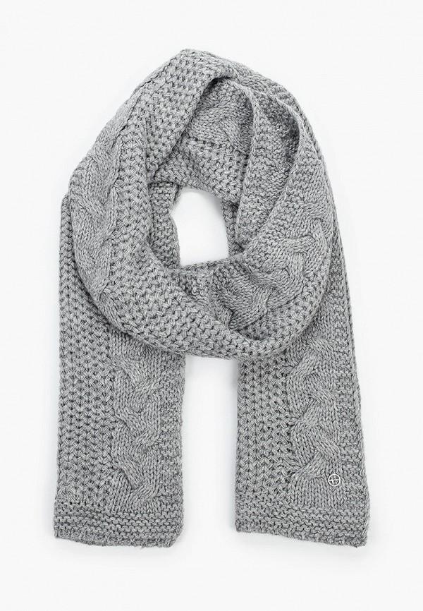 женский шарф tamaris, серый