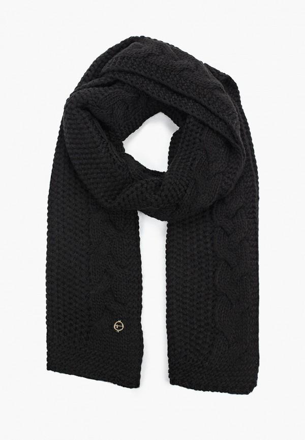 женский шарф tamaris, черный