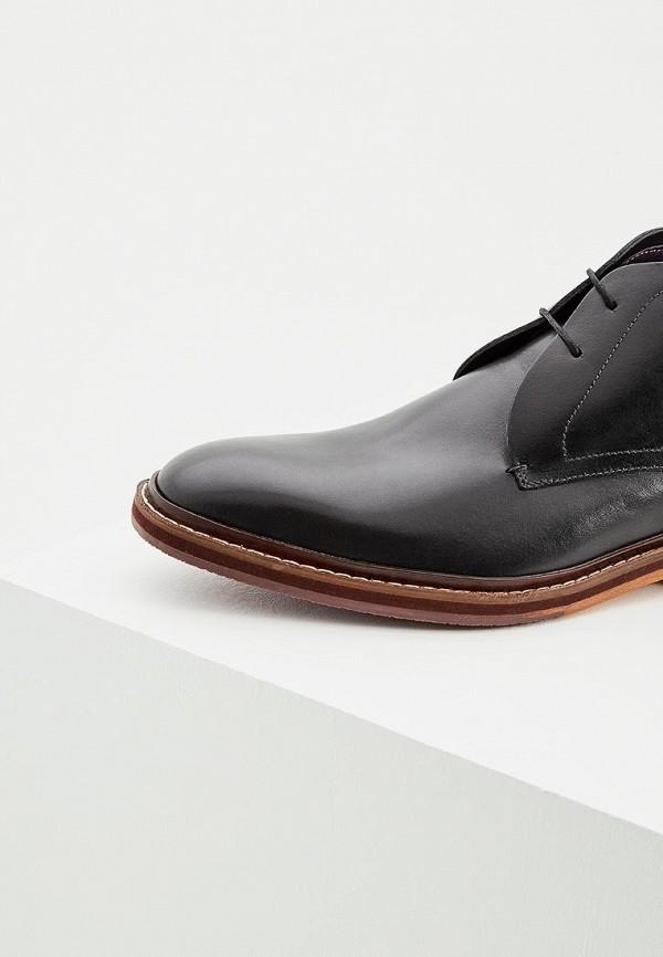 Фото 2 - мужские ботинки и полуботинки Ted Baker London черного цвета