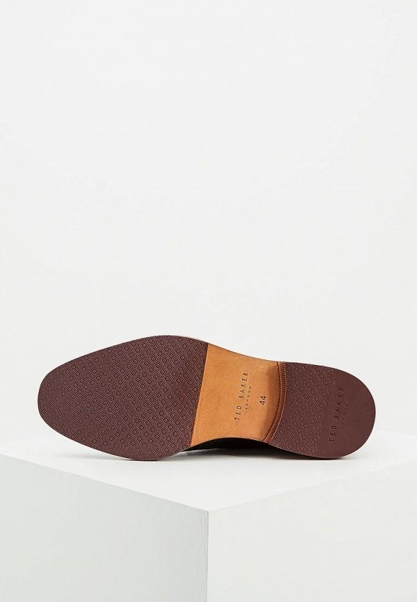 Фото 3 - мужские ботинки и полуботинки Ted Baker London черного цвета