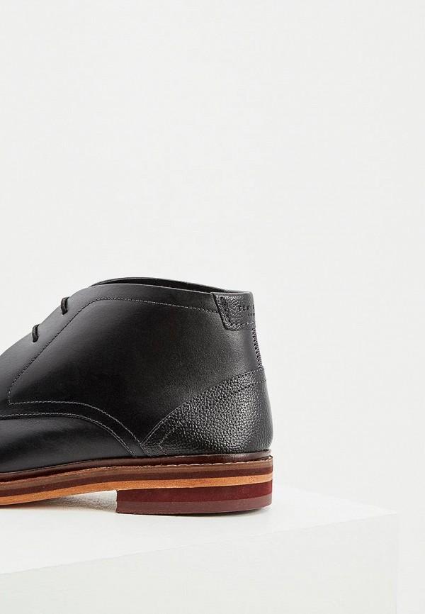Фото 4 - мужские ботинки и полуботинки Ted Baker London черного цвета