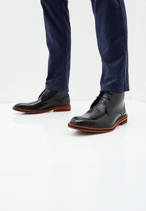 Фото 5 - мужские ботинки и полуботинки Ted Baker London черного цвета