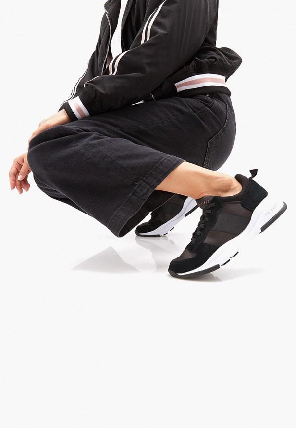 Фото 5 - Женские кроссовки Ted Baker London черного цвета